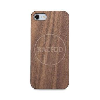 Dřevěné pouzdro na telefon - iPhone 7