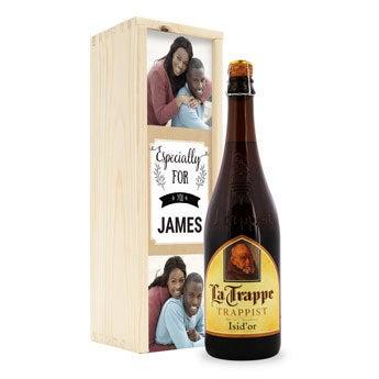 La Trappe Isid'or öl - anpassad låda