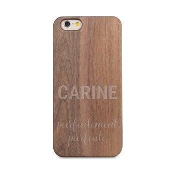 Coque en bois iPhone 6s