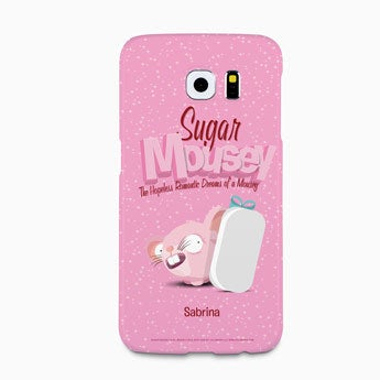 Sukker Mousey mobil taske - Galaxy S6 - 3D print