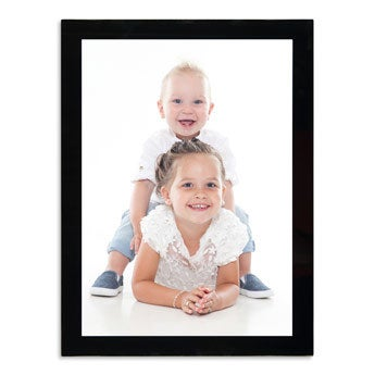 Glazen fotokader met foto - 30x40cm