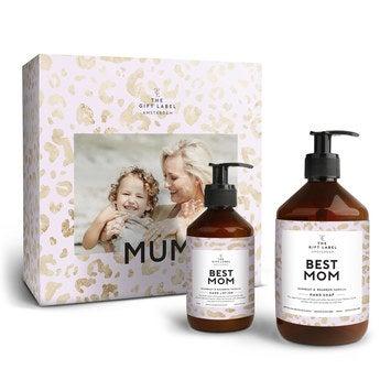 The Gift Label - La mejor mamá - Jabón y crema de manos