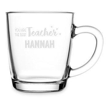 Tazza da tè in vetro - Insegnante