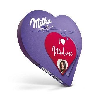 Milka Herz mit Namen