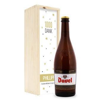 Duvel Moortgat - In bedruckter Kiste