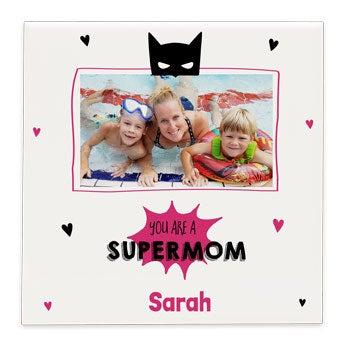 Azulejo con foto - Día de la Madre