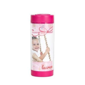 Bicchiere personalizzato - Rosa