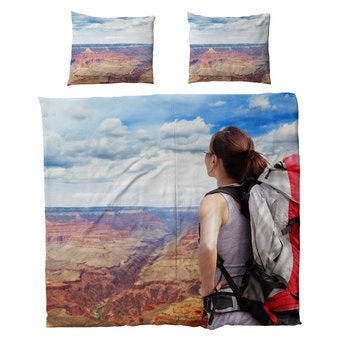 Personligt sengetøj – bomuld – 220 x 200 cm