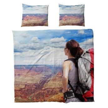 Tryckta sängkläder - Bomull - 220x200cm
