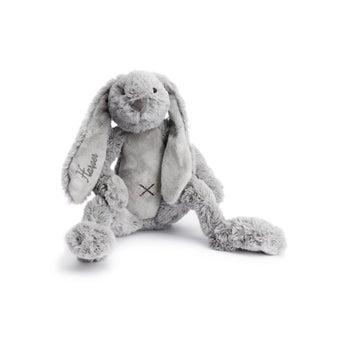 Personalised Rabbit Richie - Grey