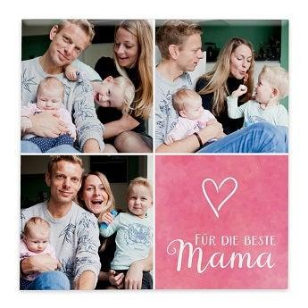 Fotofliese Muttertag