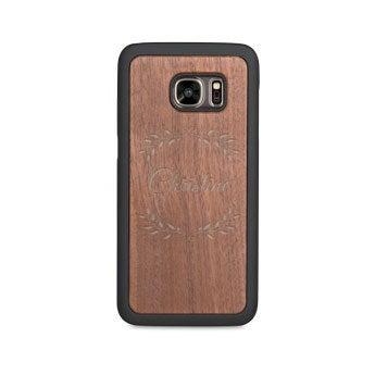Coque en bois Samsung Galaxy s7