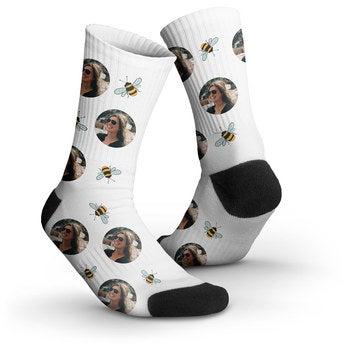 Socken bedrucken - 35-38