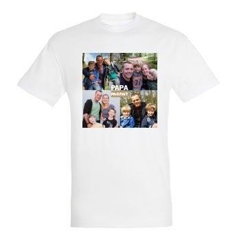 T-shirt Fête des Pères - Blanc  - L