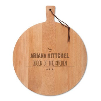 Wooden cheese board - Beech wood - Round (M)