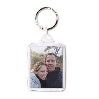 Schlüsselanhänger mit Foto - Set von 25