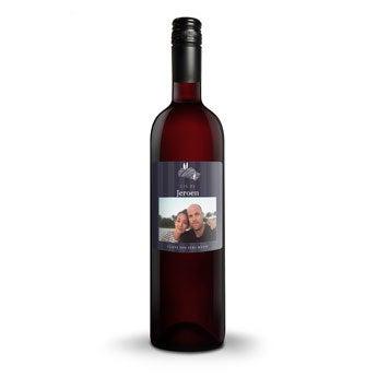 Luc Pirlet Cabernet Sauvignon - Met bedrukt etiket