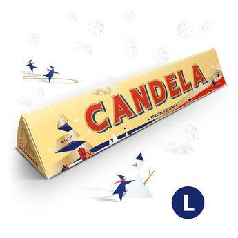Barra de Toblerone - Navidad - 360 gr
