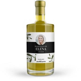 Olio d'oliva personalizzato