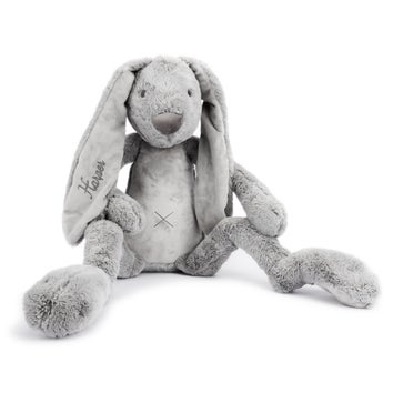 Personalised Giant Rabbit Richie - Grey