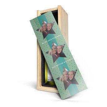 Luc Pirlet Chardonnay - In bedrukte kist