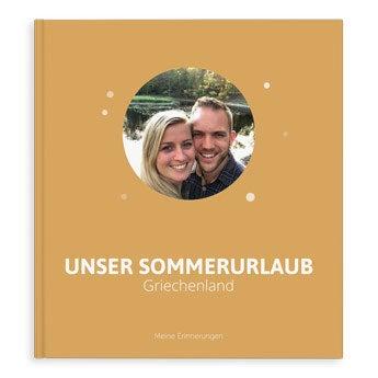 Fotoalbum Urlaub - XL - Hardcover - 40 Seiten