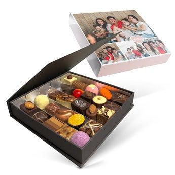 Luxe bonbon geschenkdoos - Moederdag