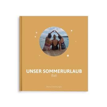 Fotoalbum Urlaub - M - Hardcover - 40 Seiten
