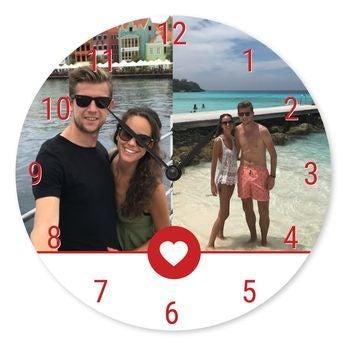 Horloge personnalisée - Ronde Grande