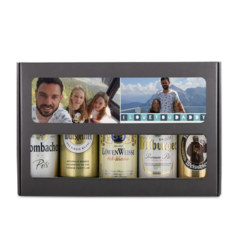 Beer can set - Father's Day - German