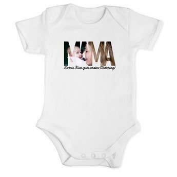 Erster Muttertag Baby Body - 50/56
