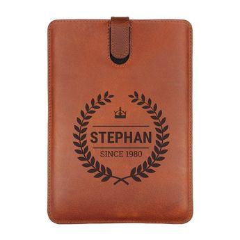 iPad Mini 3 - Custodia in Pelle - marrone