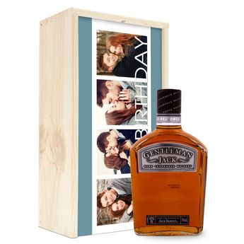 Gentleman Jack whisky - In bedrukte kist