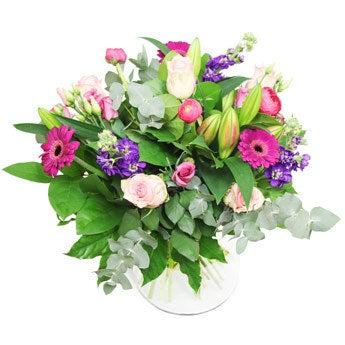 Muttertagsbukett mit Frühlingsblumen