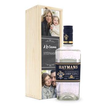 Gin Hayman's London Dry - Coffret gravé