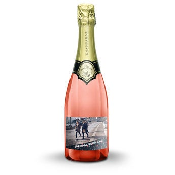 René Schloesser rosé 750 ml - Met bedrukt etiket
