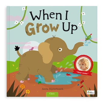 Book with name - When I grow up