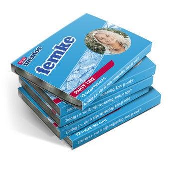 Mentos kauwgompakjes - 8 stuks