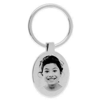 Porta-chaves Oval - Gravado