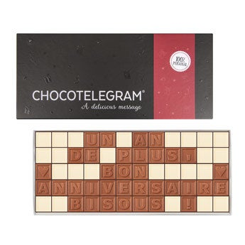 Chocotelegram - 5 x 12