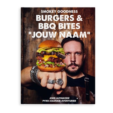 Burgers & BBQ Bites boek