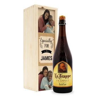 La Trappe Isid'or birra - scatola personalizzata