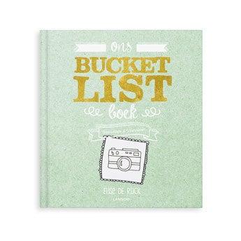 Het Bucketlist boek voor vrienden - SC