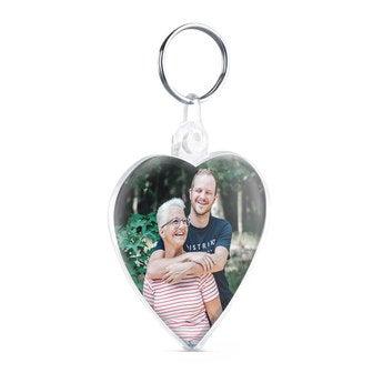 Porte-clés coeur - Photo