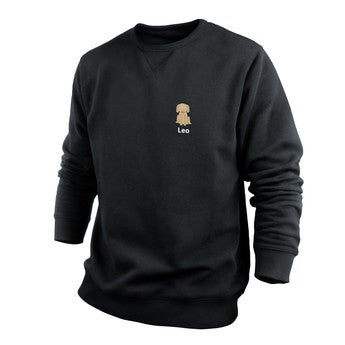 Custom sweatshirt - Men - Black - L