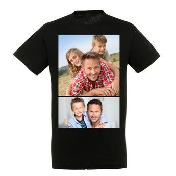 T-shirt - Mænd - Sort - L