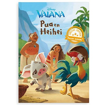 Disney Vaiana - XL boek