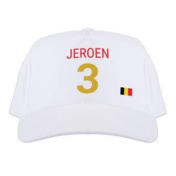 WK baseball cap