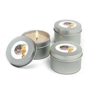 Zestaw świeczek zapachowych