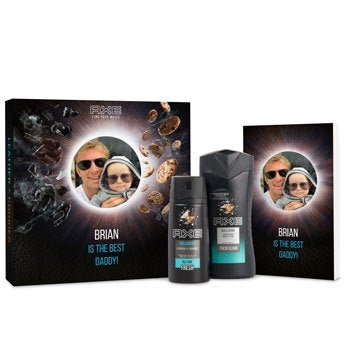 Axe Showergel, Desodorante e Bullet Journal gift set